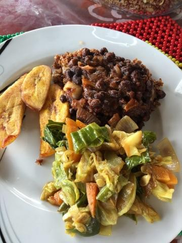 red beans, plantains, and curried vegetables.jpg