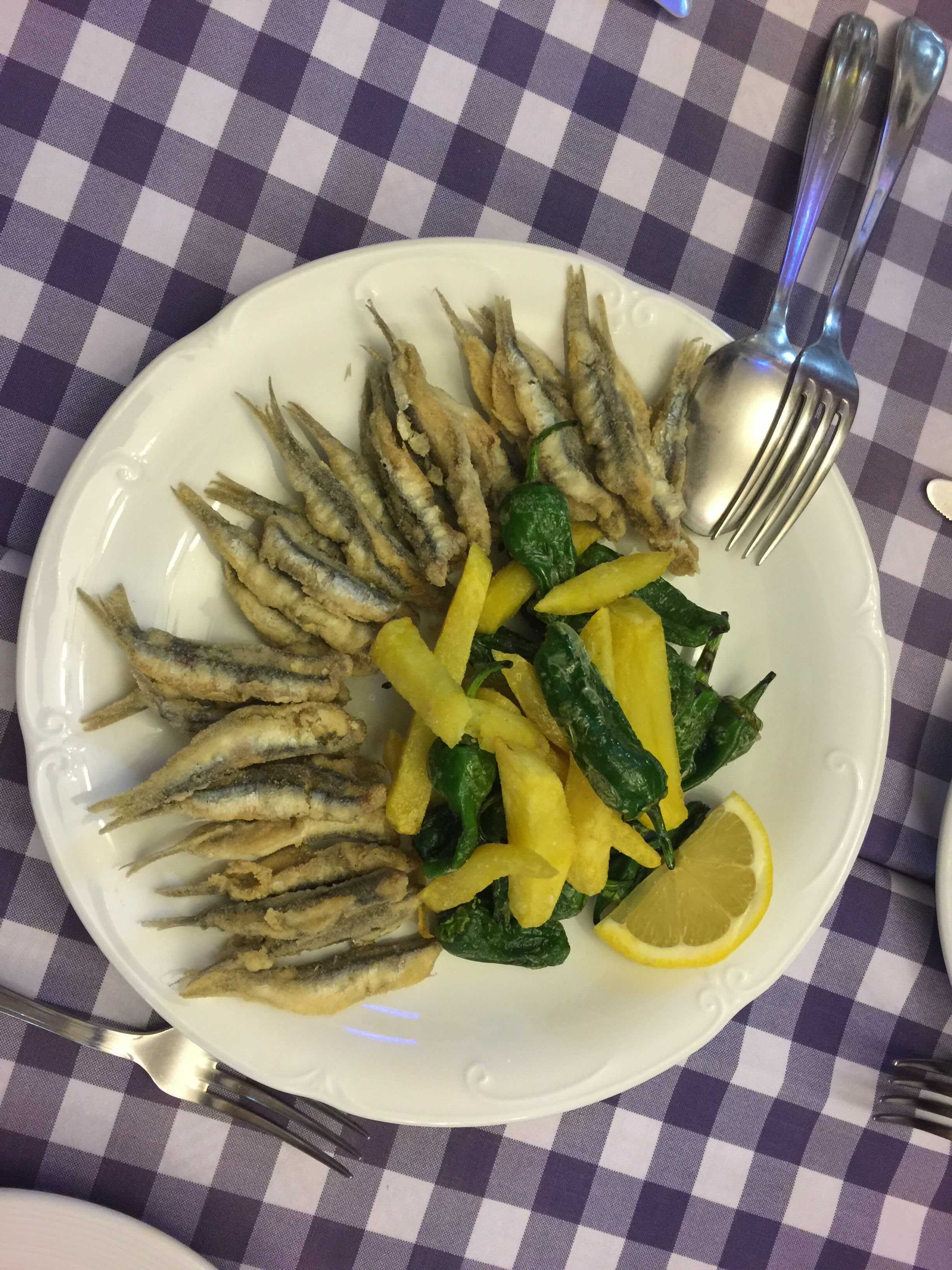 fish dish in Spain